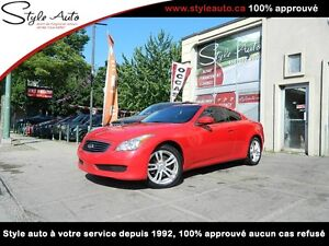 2010 Infiniti G37 Coupe X CUIR TOIT