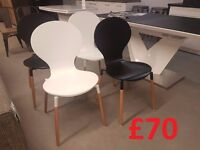 Ex display chairs and tables for sale! Few different models! Click here to see more.