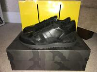 100% Genuine Valentino rock runner triple black camo sneakers/trainers