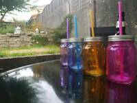 Glass Drinking Jars