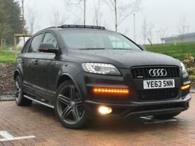 Audi Q7 s line + Black Eddition