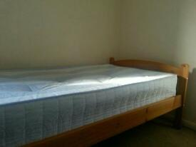 Mattress with a bed