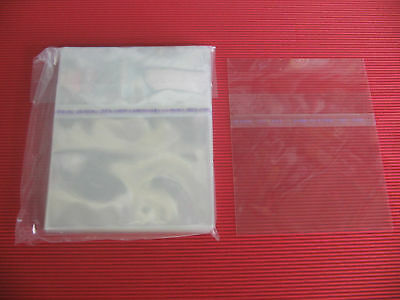 JAPAN 100 RESEALABLE OUTER PLASTIC BAG FOR MINI LP CD