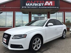 2009 Audi A4 2.0T Premium Plus, BK UP CAM, ALLOYS, SUNROOF, LEA