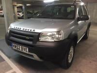 2003 landrover freelander auto td4 bmw engine lady owner trouble free 4x4 new tyres long mot bargain