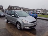 2007 FORD GALAXY ZETEC 2.0TDCI,6 SPEED MANUAL,7 SEATER,98K MILES ONLY,07707755411