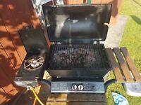 2 Burner BBQ with Side Burner