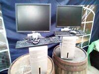2 x Quad Core Desktop PCs
