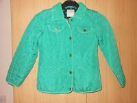 NEXT Green jacket girl age 9-10