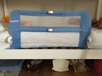 Lindam bed guard - blue