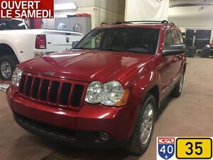 2010 Jeep Grand Cherokee NORTH EDITION,CUIR,TOIT,ÉCRAN,8 PNEUS E