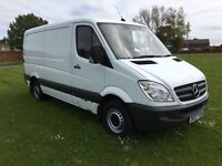 Mercedes sprinter mwb van white NO VAT