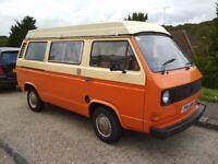 1981 VW T25 Devon Conversion Campervan, 55,000 miles