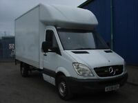 2008 Mercedes Sprinter LWB Luton Van -Tail Lift - NO VAT