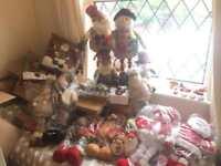 Job lot of Christmas decorations worth £300