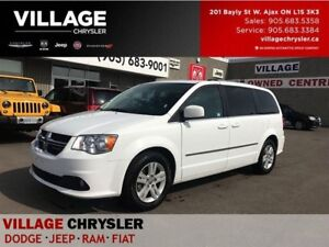 2017 Dodge Grand Caravan Crew+|LETHER|HEATED SEATS|PWR DRS|BACKU