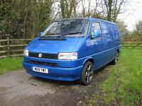 VW T4 Campervan Arden Blue Recon Engine