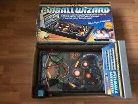 Grandstand pinball wizard retro 80s pinball machine