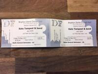 2 x Kate Tempest at Brighton Dome tickets - cost price