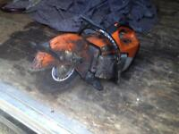 Steel petrol saw for sale