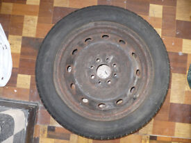 Spare Wheel/ Tyre. Outside 165/65 R 14inch/ 14'', 79T. Engineered in Germany.