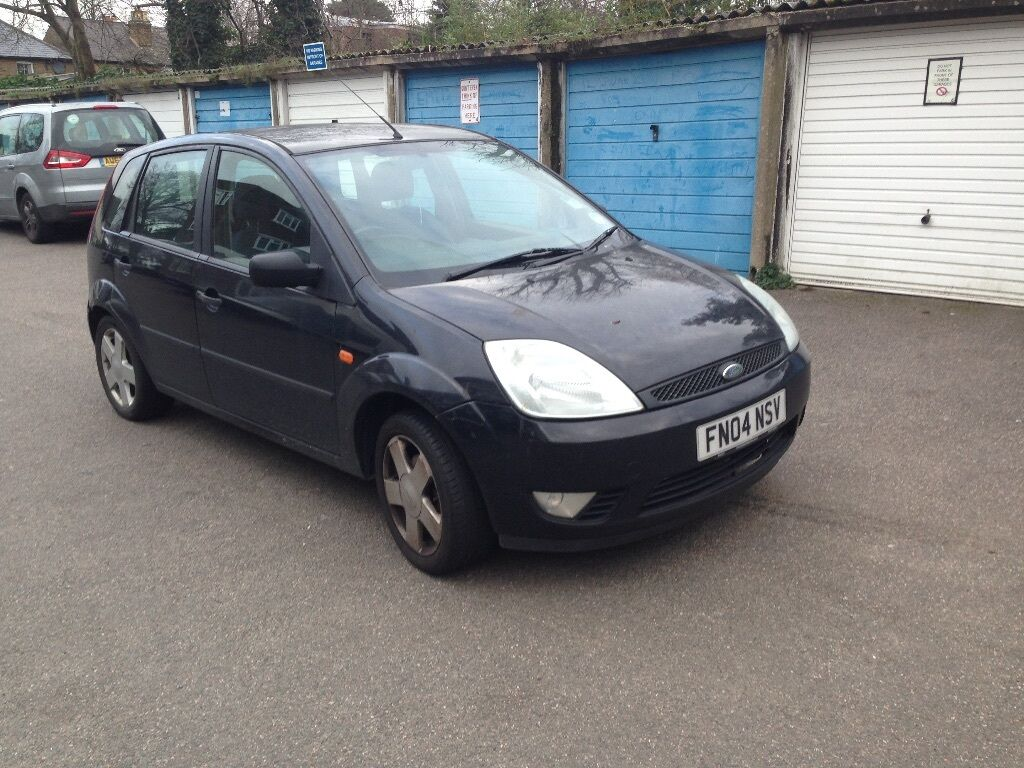ford fiesta 2004 1 4 diesel 30 road tax in north london london gumtree. Black Bedroom Furniture Sets. Home Design Ideas