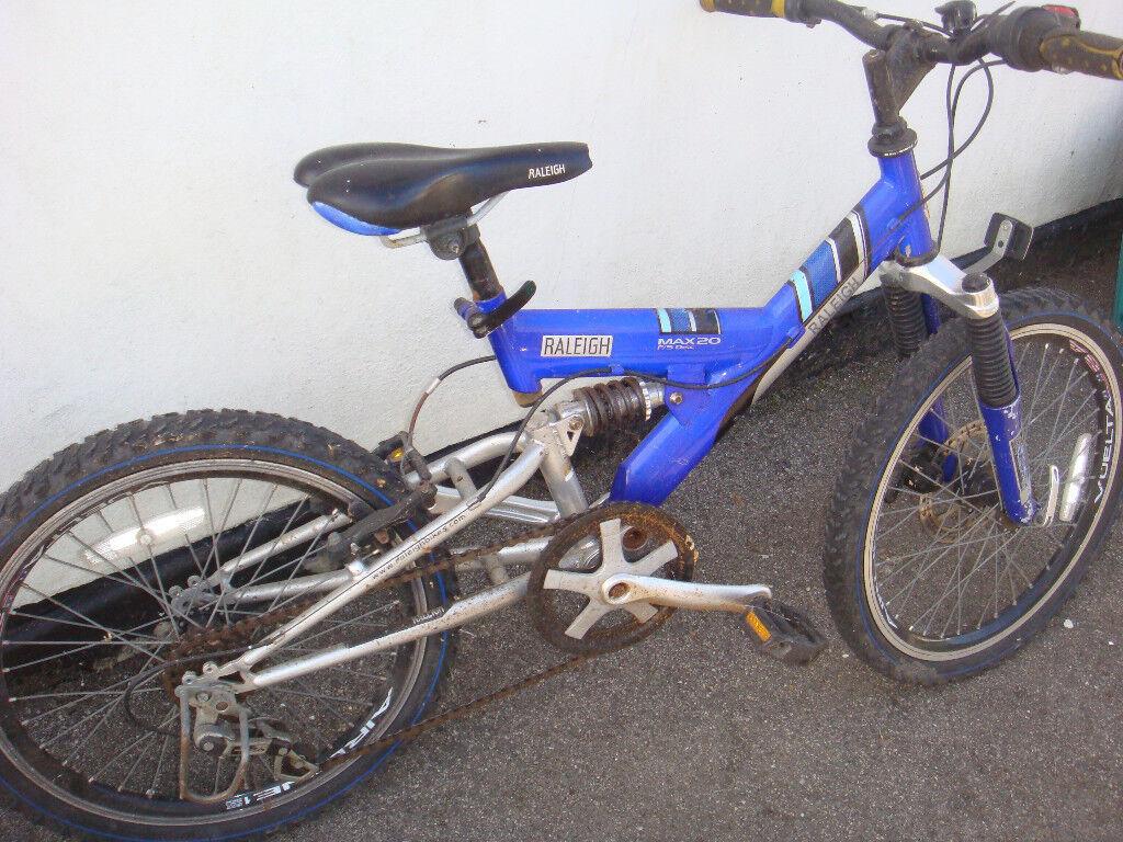 2 kids raleigh bikes