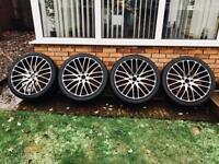 "Range Rover, BMW X5, X6 22"" Alloys, Alloy Wheels"