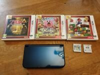 New model Nintendo 3ds xl with games