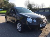 VOLKSWAGEN POLO TWIST AUTO 1.4 5DR BLACK 2005