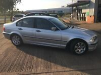 BMW E46 318i 2001 silver