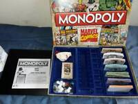 Marvel comics ...Monopoly..........