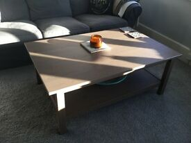 Ikea grey coffee table - great condition
