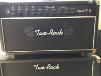 Two Rock 22w amp head and Cab. Rare Hand wired Dumble Tone