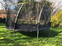 Plum Whirlwind 14ft Trampoline - Excellent Condition