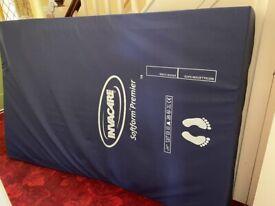 Invacare Softform Premier Original Pressure Sore Prevention double mattress
