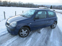 Renault Clio 1.2 Authentique Years MOT FSH including Timing Belt. Only £1375 ono