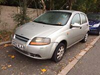 2003 DAEWOO KALOS 1.4 PETROL MANUAL 5 DOOR HATCHBACK MOT GOOD DRIVE CHEAP CAR NOT CORSA FIESTA POLO