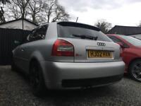 Audi S3 8L Bam *Spares or repairs*