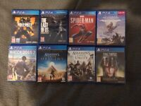 PS4 Pro 1TB / 2 Controllers / 8 Games