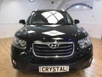 HYUNDAI SANTA FE 2.2 PREMIUM CRDI 5d AUTO 194 BHP 18 INCH ALLOYS (black) 2010