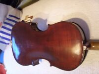 "Orchestral Vintage Full size Violin ""The Maidstone"" by John D Murdock & Co Ltd."
