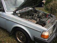 Volvo 244GLE engine + Auto gearbox