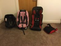 4 car seats for sale from birth to 12 years