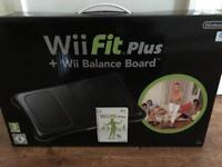 Brand new- Nintendo wii fit plus and balance board