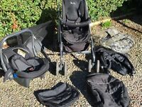 Silver Cross Travel System - Buggy and lots of accessories - good condition.