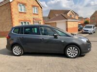 2014 VAUXHALL ZAFIRA TOURER SE 2.0 DIESEL, LEATHER, CRUISE, PARKING SENSORS, ONE PREVIOUS OWNER