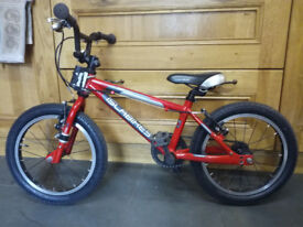 Islabikes 16 inches CNOC Red used Good condition just serviced new tyres new brakes