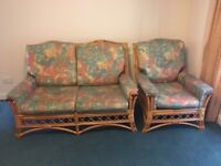 Conservatory sofa & chair to be collected asap