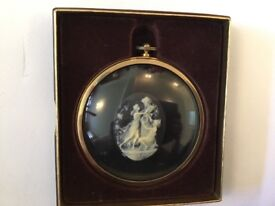 Dancers in cameo from miniature worlds of Peter Bated
